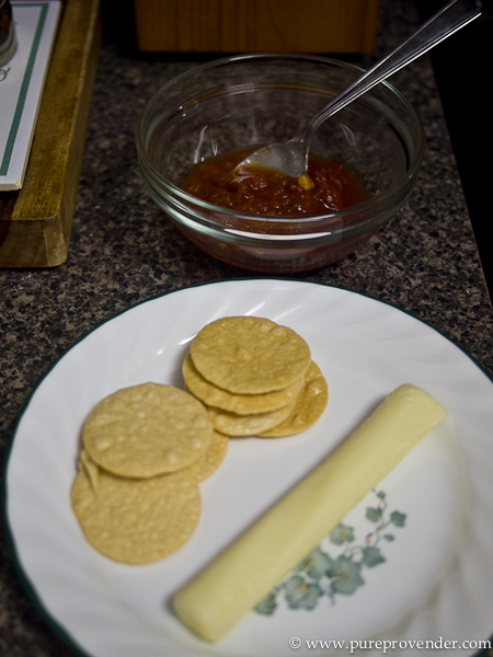 Brown Rice Chips and Salsa